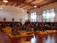 2005-12 Half Day Meditation Retreat & Class Completion Ceremony
